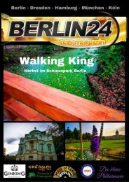Walking King  - Herbst im Schlosspark Charlottenburg Berlin 2020