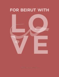 For Beirut With Love