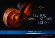 Festival Strings Lucerne Saison 2020-2021