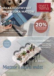 Matt-Tema, Gustafssons- Höstkatalog November 2020