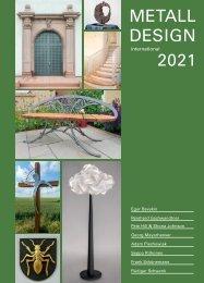 Metall Design Jahrbuch 2021 - Vorschau