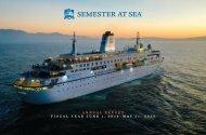 Semester at Sea Annual Report - Fiscal Year June 1, 2019–May 31, 2020