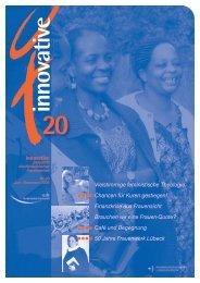 Innovative 20 - Nordelbisches Frauenwerk