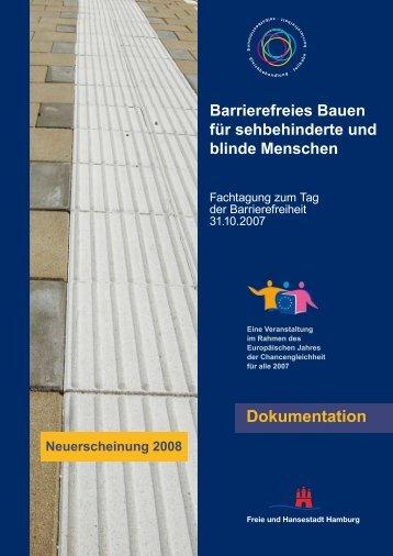 Barrierefreies Bauen für sehbehinderte und blinde Menschen