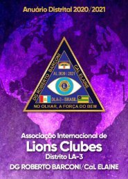Lions Agenda 2020-2021