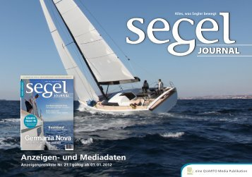 Anzeigen- und Mediadaten - Segel Journal