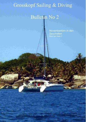 Seychellen 2008 - Segel und Tauchreisen