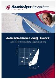 in einem Boot - das perfekte Segel-Incentive Erlebnis, Abenteuer ...