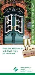 Festscheunen - Schleswig-Holstein