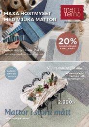 Matt-Tema, Mattimporten- Höstkatalog November 2020