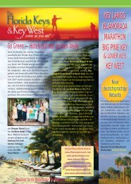 KEY LARGO ISLAMORADA MARATHON BIG PINE ... - Florida Keys