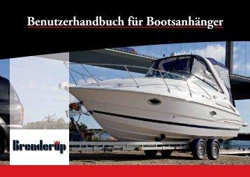 Benutzerhandbuch für Bootsanhänger - Bootcharter-Luebeck.de