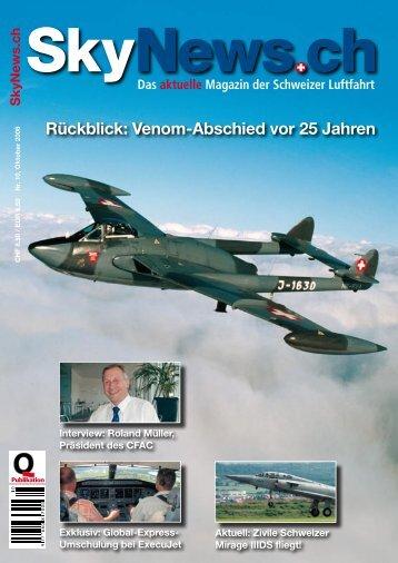 Rückblick: Venom-Abschied vor 25 Jahren - SkyNews.ch