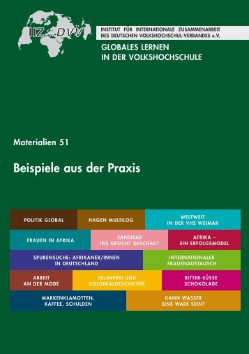 Globales Lernen in der Volkshochschule - Arbeitsgemeinschaft ...