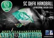 SC DHfK Sponsorenpakete 2020