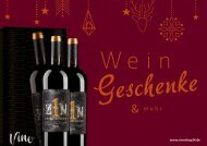 Wein und Geschenke Weihnachten 2020 | Vineshop24