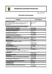 Staatliches Schulamt Karlsruhe - SCHULAEMTER-BW.DE
