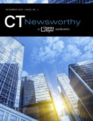 CT Newsworthy | A Charles Taylor Publication