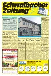 Schwalbacher Zeitung Ausgabe Kw 44-2020