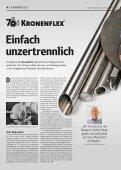 Gelb. Die Kundenzeitung von Klingspor - Ausgabe 2|2020 - Page 4