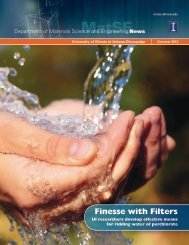 Finesse with Filters - Materials Science and Engineering - University ...