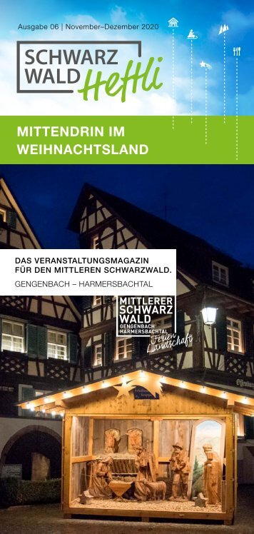 Schwarzwald-Heftli Ausgabe6 Nov-Dez 2020