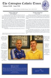 The Covington Catholic Times - Covington Catholic High School