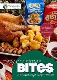 Tyneside Foodservice Tasty Christmas Bites 2020
