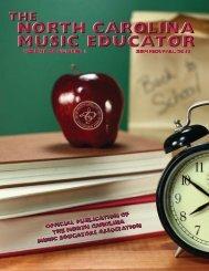 NC Music Educator Journal Summer 2015
