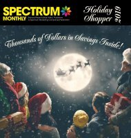 Spectrum Monthly Holiday Shopper Special Edition 2019