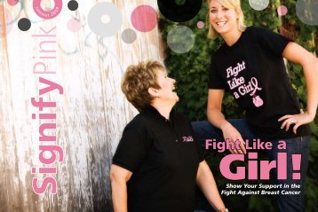 Fight Like a - Signify Pink