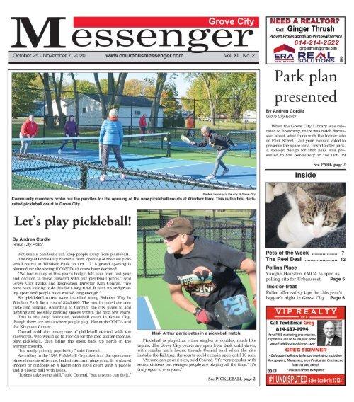 Grove City Messenger - October 25th, 2020