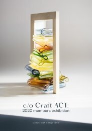 c/o Craft ACT: 2020 members exhibition