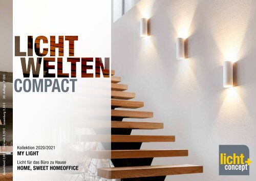 Lichtwelten COMPACT Blätterkatalog 2020/21