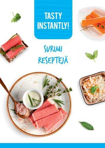 IM084 Surimi recipes catalogue FI_preview