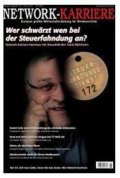 Wer schwärzt wen bei der Steuerfahndung an ... - Frank Wehrheim