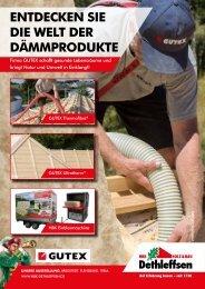 HBK Dethleffsen – GUTEX Dämmprodukte