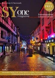 SYone magazine Winter edition 2020