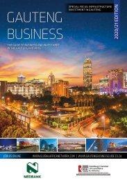 Gauteng Business 2020/21 edition