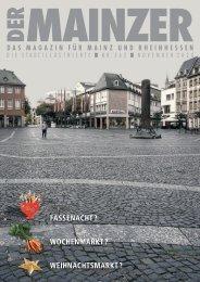 DER MAINZER - Das Magazin für Mainz und Rheinhessen - Nr. 362