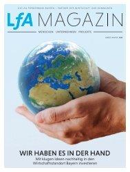 LfA Magazin Herbst / Winter 2020