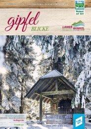 Gipfelblicke - das Erlebnismagazin für den Lamer Winkel