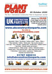 Construction Plant World - 29th October 2020
