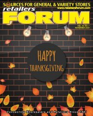 Retailers Forum Magazine Nov. 2020 EMAG