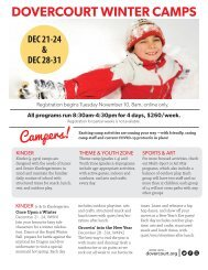 Dov winter camps 2020 oct29