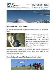 ROTOR 09|2012 - Innsbrucker Segelflieger Vereinigung