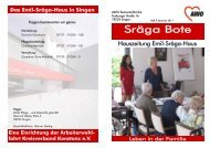 Sräga Bote - AWO - Emil-Sräga-Haus Singen a.Htwl.