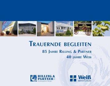 TRAUERNDE BEGLEITEN - Bestattungsdienst Rilling und Partner
