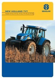 NEW HOLLAND TVT - Landtechnik Seitz
