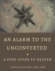 An Alarm to the Unconverted by Joseph Alleine